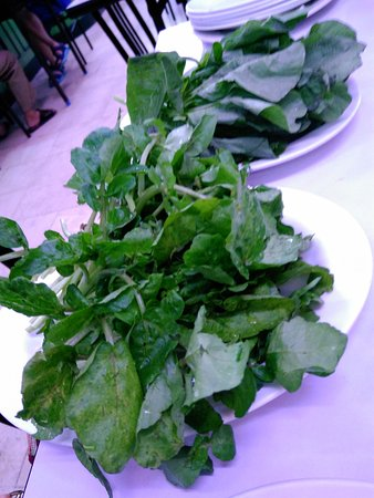 Metro Manila, Filipinas: Watercress and spinach