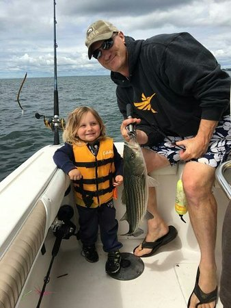 Portsmouth, RI: Great day of fishing !