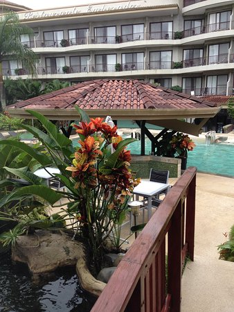 The Royal Corin Thermal Water Spa & Resort: The grounds are beautiful!