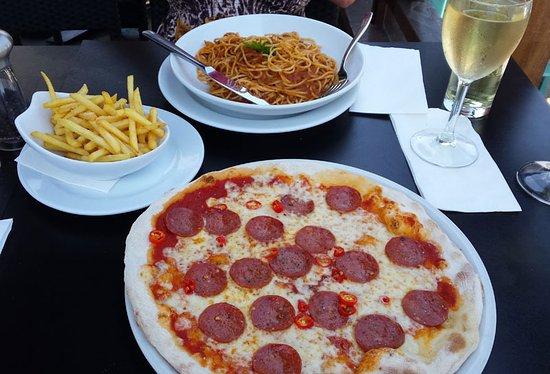Pizza at Prezzo