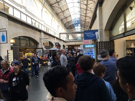 Humphry Slocombe: Humphrey Slocombe, Ferry Building