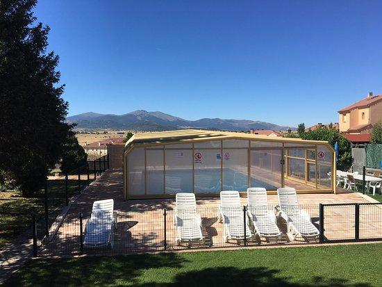 Palazuelos de Eresma, Espagne : Vista desde el comedor