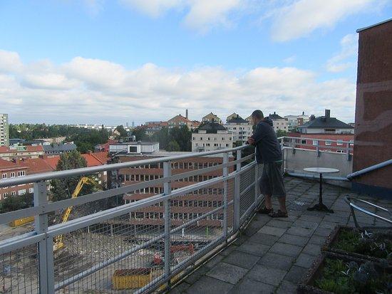 Solna, Suecia: obok taras z widokiem