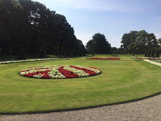 Haarzuilens, Nederländerna: mooie tuin