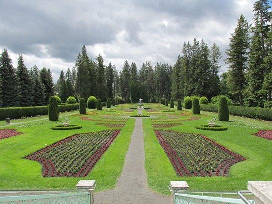 Manito Park and Gardens in Spokane June 2016