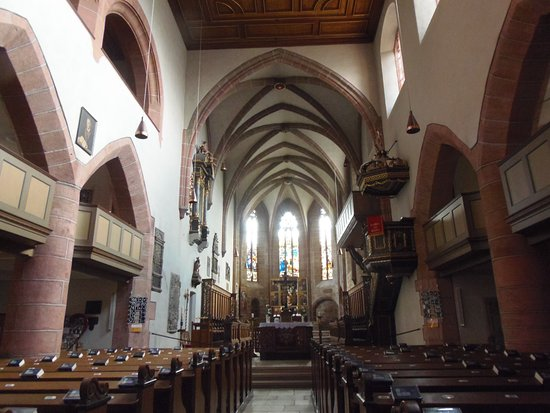 Stiftskirche-interior da igreja