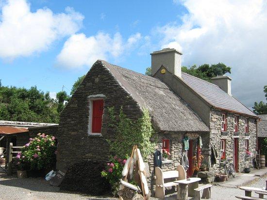 Kenmare, Ierland: Das Farmhaus von ausßen