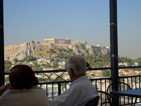 Astor Hotel Athens : View from Astor's breakfast room