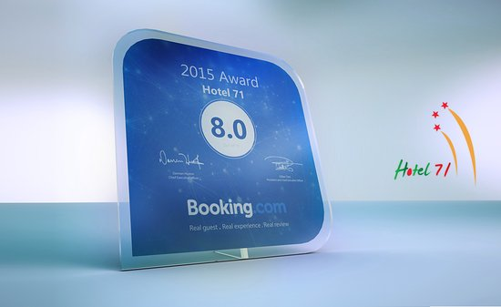 Hotel 71 : 2015 Booking.com Award Winner