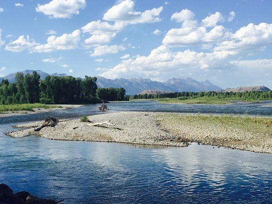 Snake River Lodge and Spa: Fishing near the Snake River Lodge