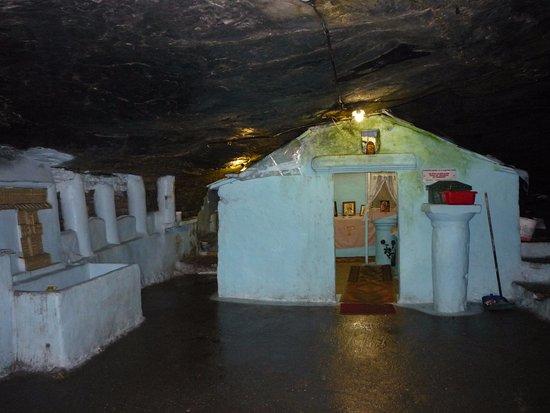 Maritsa's Bay Hotel: uvnitř skaly