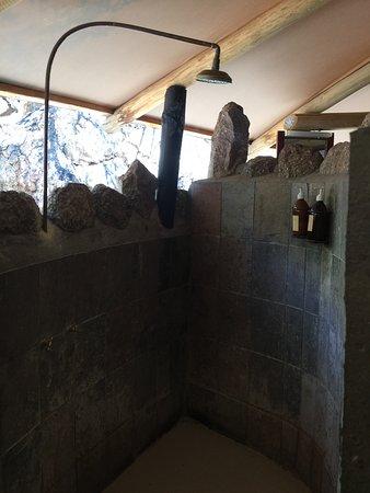 Omaruru, Ναμίμπια: Shower