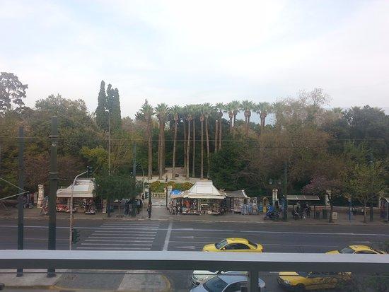 Amalia Hotel: vista de la habitación