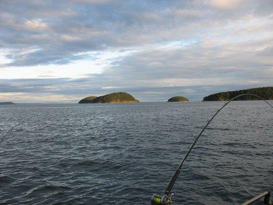 Anacortes, WA: King Salmon fishing in the San Juan Islands.