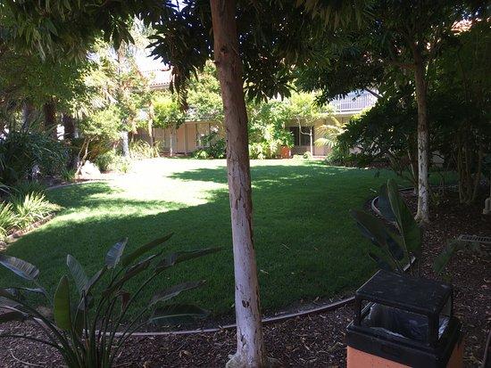 Wyndham Garden San Jose Airport: Hotel garden area