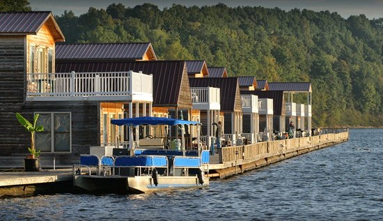 Campbellsville, Кентукки: Floating Cabins