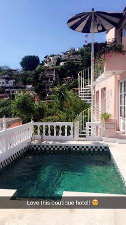 Rivera del Rio: Rooftop pool.