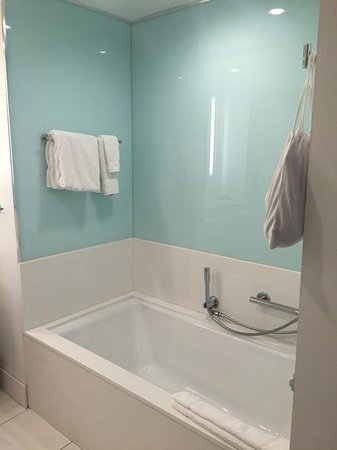 radisson blu mall of america deep soaker tub on opposite wall of toilet and