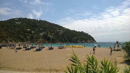 Sant Vicent de sa Cala, Spanien: spiaggia