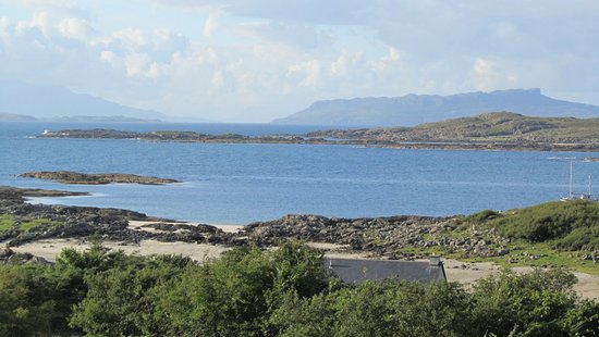 Kilchoan, UK: View from the house