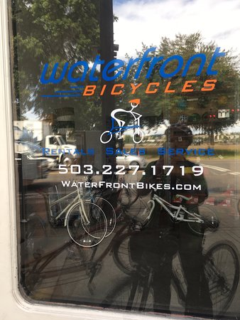 Waterfront Bicycles: Picture of storefront