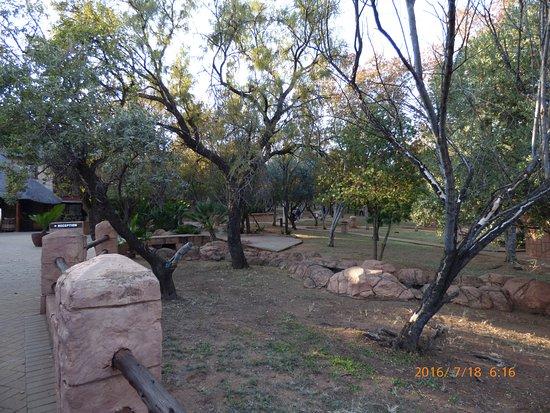 Cullinan, Sydafrika: Hotel grounds