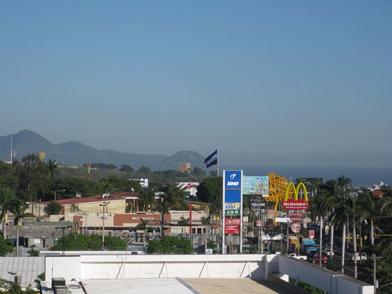 Hilton Princess Managua: view from my window
