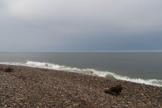 Fochabers, UK: Shingle Beach