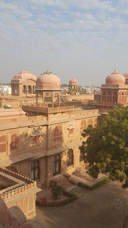 vista desde la terraza superior del hotel
