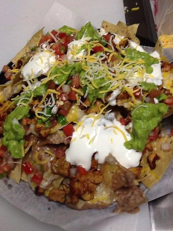 Murrieta, CA: super nachos