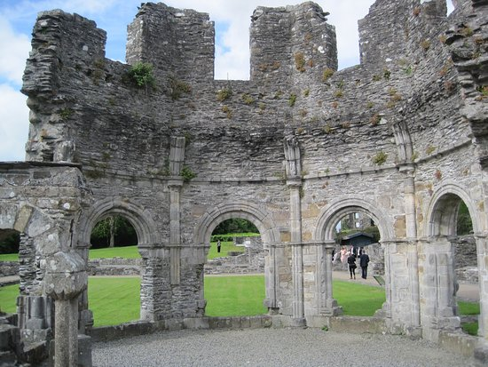 Drogheda, Irland: Ruinas pentagonales.