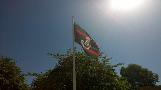 Salisbury, UK: Flag of The Rifles Berkshire and Wiltshire