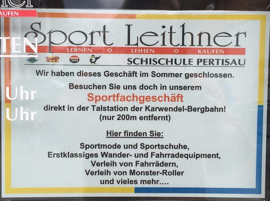 Sport Leithner Bicycle Rental
