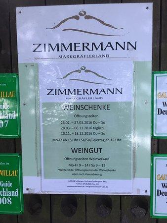Weinschenke Zimmermann
