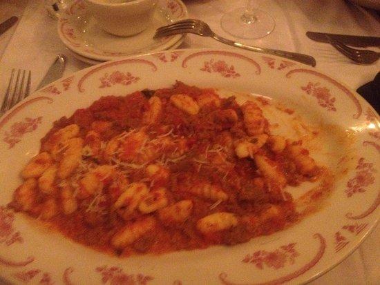 Vernon Hills, IL : gnocchi and sausage