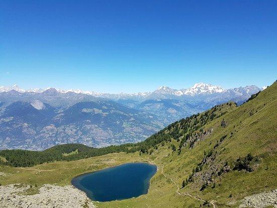 Charvensod, Italië: Weg zu Rifugio Arbolle