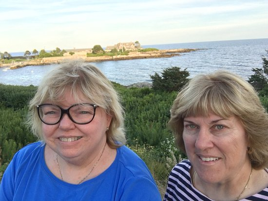 Kennebunkport, ME: A must from the parking area!