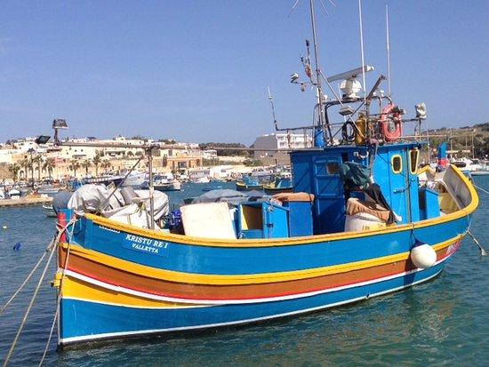 Marsaxlokk, Malta: Luzu: traditional fishing boat