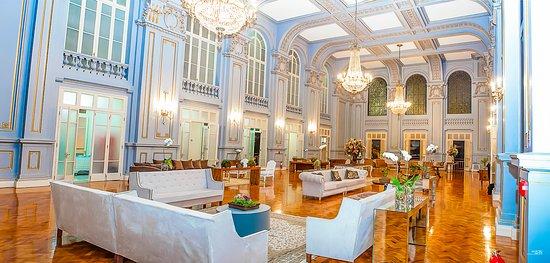 Palace Casino: Salão Azul - Fotos: Creditos Marcelo Tercetti