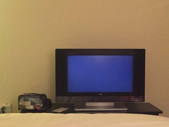 Richmond Hotel: Tiny TV