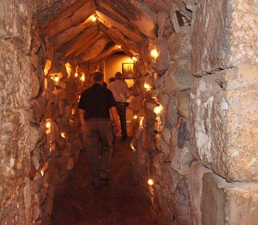 Leaving the Cave nightclub @ Mount Washington Resort