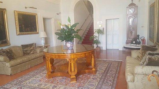 Villa Olmi Firenze: Sitting area