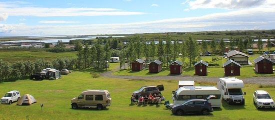 Kirkjubaer II Camping Site and Cottages