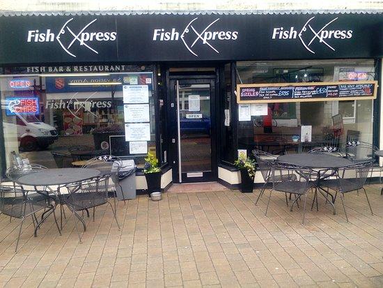 Kendal, UK: 16 seats outside