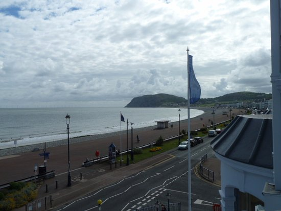 The Imperial Hotel: Little Orme from Room 210