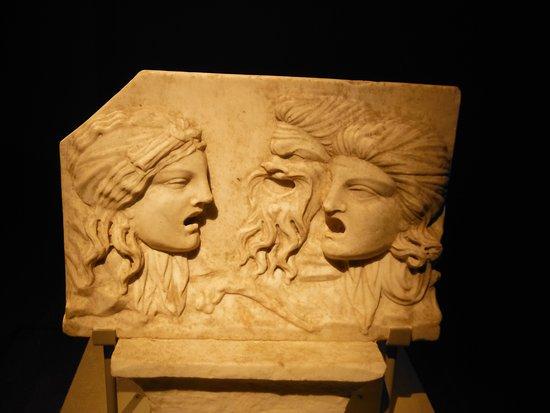 Montreal, Kanada: Pompeii exhibition. Theatre.