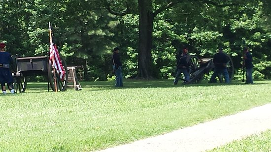 Petersburg, VA: Civil War reenactors
