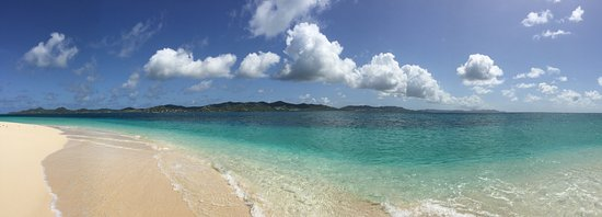 Caribbean Sea Adventures: Beach at Buck Island