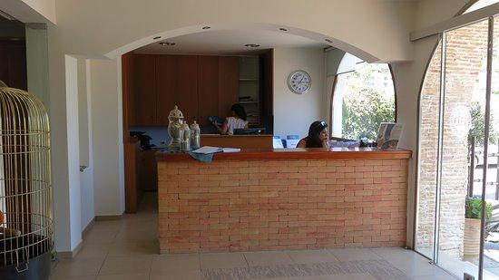 Alianthos Beach Hotel: Recepce