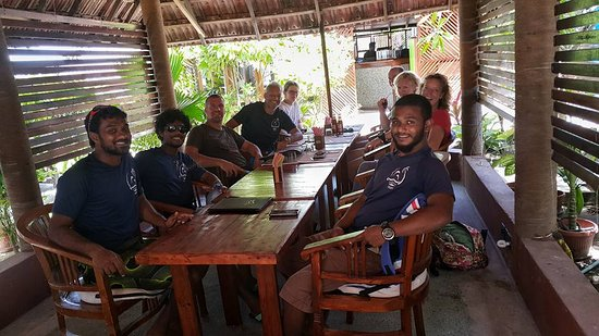Addu Atoll: Aquaventure Staff with guests
